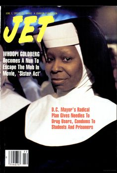 The weekly source of African American political and entertainment news. Vibe Magazine, Jet Magazine, Essence Magazine, Black Magazine, Ebony Magazine Cover, Magazine Covers, Sister Act, Whoopi Goldberg, Famous Black