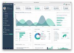 Free Bootstrap Admin Dashboard Templates