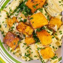 Pumpkin Pasta with Vodka Cream Sauce Recipe | Rachael Ray Show