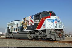 "UP 1111 ""Power By The People"" Commemorative Union Pacific EMD at Bloomington, California Union Pacific Train, Union Pacific Railroad, Heritage Train, Railroad History, Ho Scale Trains, Railroad Photography, Rail Car, Train Pictures, Train Engines"