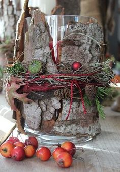 floristry - exhibitions - living accents - Home Decoration Rustic Christmas, Christmas Home, Christmas Wreaths, Christmas Crafts, Deco Table Noel, Deco Nature, Fall Decor, Holiday Decor, Deco Floral