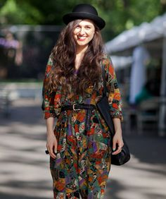 Street Style! Our 13 Favorite Looks From The Hester Street Fair #Refinery29 _@melanieberliet