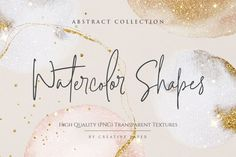 Gold Texture, Texture Design, Brush Stroke Png, Brush Strokes, Graphic Projects, Scene Creator, Journal Cards, Abstract Watercolor, Design Bundles