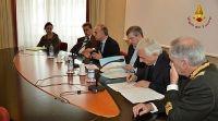 Genova - Servizio di elisoccorso: convenzione tra Vigili del Fuoco e Regione