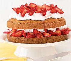 Strawberry Shortcake #realsimple