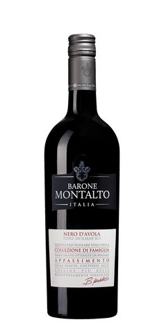 3/5 behöver ligga till sig. Barone Montalto Nr 75416 Nero d'Avola Passivento , 2015 Mycket fruktig smak med sötma, inslag av fat, blåbärssylt, sötlakrits, peppar och vanilj.