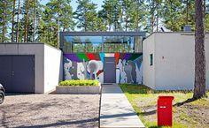 Ekstrands dörrar på arkitektritat hus i Åhus #Ekstrands #Dörrar #Arkitektur #Inspiration #Design #Doors #Architecture