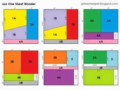6x6 One Sheet Wonder Card Sketch Formulas with Samples