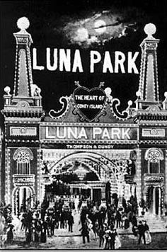 Coney Island: Luna Park Entrance, 1905