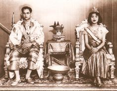 All of Thailand is happy to be able to celebrate  royal wedding his Majesty King Bhumibol Adulyadej the great and her Majesty Queen Rajawongse Sirikit. The happy couple was married in Thailand on April 28, 1950.