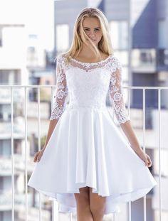 Vi er utrolige glæde for at kunne præsentere vores Dresses For Teens, Cute Dresses, Vintage Dresses, Casual Dresses, Girls Dresses, Robes De Confirmation, Confirmation Dresses White, White Homecoming Dresses, Off White Dresses