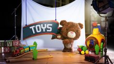 TOYS by mighty , via Behance