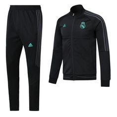 204547a154 Real Madrid C.F. Football club Adidas 2017-18 Men's Pre-Match Replica  TRAINING Zip Casual TOPS TRACKSUIT FÚTBOL CALCIO SOCCER FUSSBALL Jogging  Tracksuit Zip ...