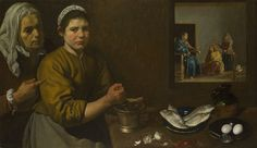 Diego Velázquez: 'Christ in the House of Martha and Mary'