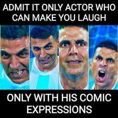 Akshay kumar  King of comedy