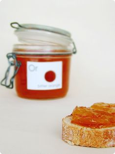 Sexiest bitter orange marmalade -What I really like about this marmalade is that you don't have to use any extra pectin as the pips provide enough of this gelling substance.