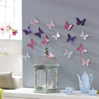 """Wanddekoration """"Butterfly"""" #Gingar #Dekorieren"""