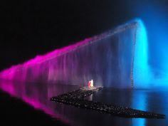 water/light show on famous WestLake of Hangzhou, China