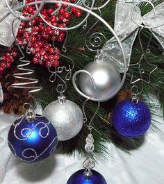 Ornament hooks 12 STURDY Christmas hangers for by AllegroArt