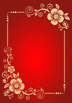 Framed Wallpaper, Flower Background Wallpaper, Background Vintage, Flower Backgrounds, Background Patterns, Wallpaper Backgrounds, Vintage Backgrounds, Text Background, Wallpapers