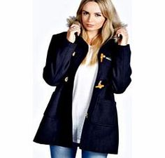 boohoo Faux Fur Trim Hood Rope Toggle Duffle Coat - Breathe life into your new season layering with the latest coats and jackets from boohoo. Supersize your silhouette in a puffa jacket, stick to sporty styling with a bomber, or protect yourself from t http://www.comparestoreprices.co.uk/womens-clothes/boohoo-faux-fur-trim-hood-rope-toggle-duffle-coat-.asp
