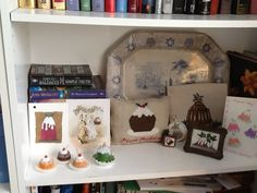 2 cross stitch, 2 needlepoint plus cards and 4 little plum puddings