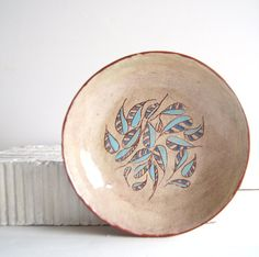 Decorative Plates-Ceramic Plate-Ceramic Bowl-Breakfast by Vsocks