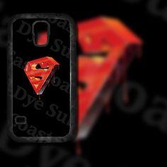 Superman Logo 2 Design on Samsung Galaxy S5 & by EastCoastDyeSub