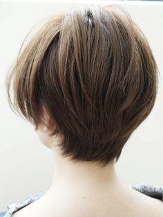 Pin on ショートヘア Cut My Hair, Love Hair, Short Bob Hairstyles, Pretty Hairstyles, Haircuts, Shot Hair Styles, Long Hair Styles, Hair Reference, Hair Today