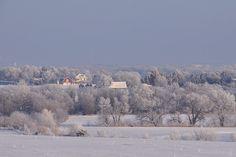 Lancaster county Nebraska in winter by Matt Steinhausen.