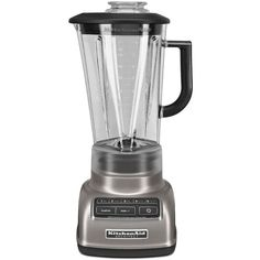 KitchenAid Diamond Blender (220 CAD) ❤ liked on Polyvore featuring home, kitchen & dining, small appliances, ice blender, kitchen aid blender, kitchen aid small appliances, kitchenaid small appliances and kitchenaid blender