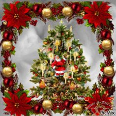 It can't be Christmas without some lights, trees, decorations. Christmas Tree Gif, Christmas Scenes, Christmas Past, Merry Christmas And Happy New Year, Christmas Pictures, Christmas Greetings, Winter Christmas, Vintage Christmas, Christmas Wreaths
