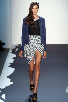 Love Love this look, and these shoes! omg! Spring 2014 RTW Emerson Collection