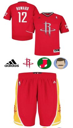 Houston Rockets. Houston Rockets TeamDwight HowardNumber 12Adidas ... 4b5f2693a