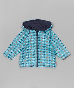 Look at this #zulilyfind! Pool Vroom Reversible Zip-Up Hoodie - Infant & Toddler #zulilyfinds