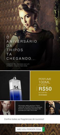 THIPOS   Email Marketing - Perfume 50ml por R$100