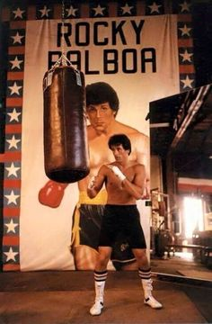 Sylvester Stallone as Rocky.