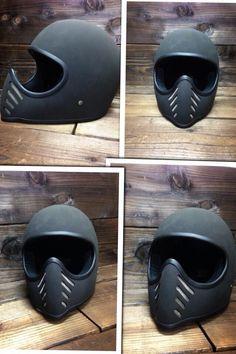 Nice Black Flat Helmet