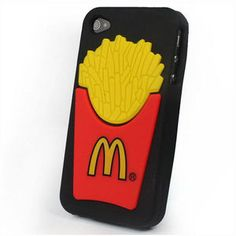 Mcdonald's Soft Rubber Silicone Case - #iPhone 4/4S