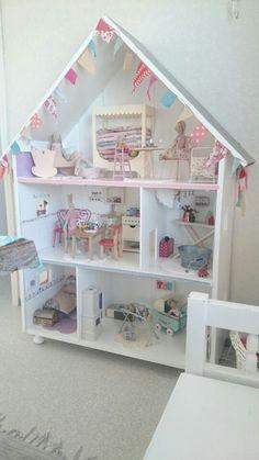Afbeeldingsresultaat voor poppenhuis zelf maken