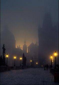 Prague... looks like something out of a Gothic novel