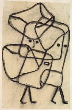 Paul Klee. Burdened Children   Belastete Kinder, 1930  morepaul klee