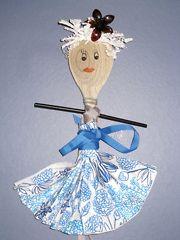 Wooden Spoon fairy - Die Kochlöffel-Fee
