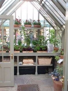 look inside - Alitex Mottisfont Greenhouse #Gewächshaus