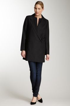 tibi Jagger Suiting Boxing Coat.  Absolute perfection.