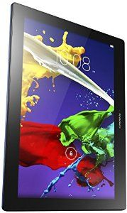Lenovo Tab 2 10-Inch 16 GB Tablet (Navy Blue) -Android 4.4 KitKat, 10 inches LCD (1920x1200) BEAUTIFUL COLOR AND SHARPNESS DISPLAY!  Great value, surprising for only $180!  -  This tablet is powered by a 64-bit quad-core, 1.5 GHz, 2GB of RAM, 16 GB Flash Memory, 2 GB RAM Memory, 10-hour battery life