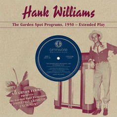 """All recordings previously unreleased! From a 1950 radio show sponsored by Texas' Naughton Farms Nursery, and brought to brown 10"""" vinyl with the help of Williams' daughter Jett."""