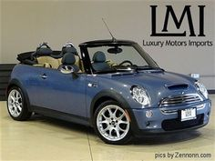 I WANT THIS!  Mini Cooper S Convertible