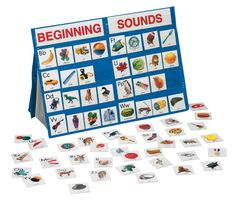 Amazon.com: Smethport Tabletop Pocket Chart Beginning Sounds: Toys & Games