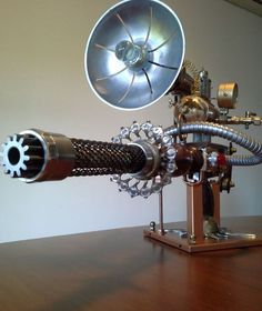 Steampunk Gun W.I.P.:
